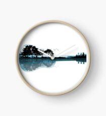 Nature Guitar Clock