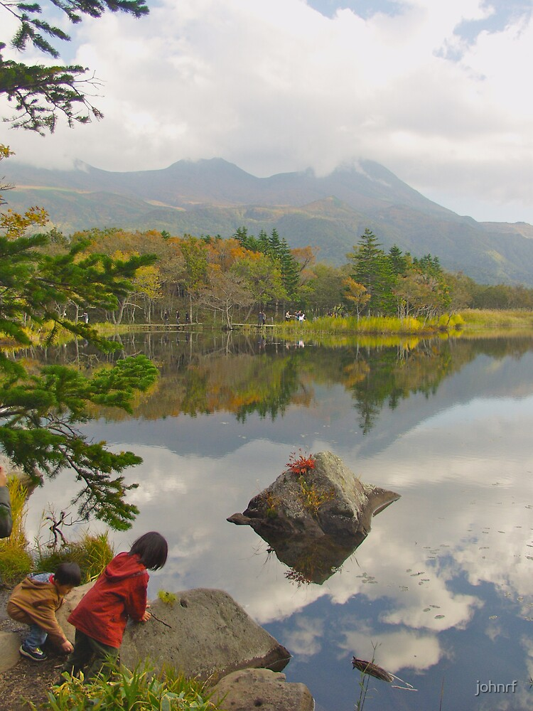 Enjoying the magic. Hokkaido, japan by johnrf