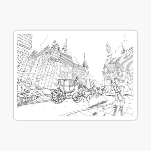 The Bavarian Village Sticker