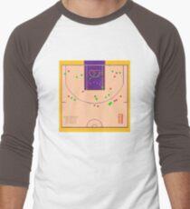 5d2072ea23f Kobe Bryant 81 points Shot Chart Baseball ¾ Sleeve T-Shirt