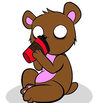 Caffeine Bear  by TheGFig