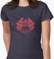 Nakatomi Corporation (Die Hard) Women's Fitted T-Shirt
