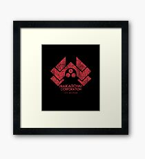 Nakatomi Corporation (Die Hard) Framed Print