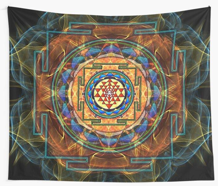 The Sri Yantra - Sacred Geometry by Olga Kuczer