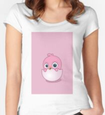 pink chick Women's Fitted Scoop T-Shirt