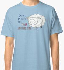 tea and knitting Classic T-Shirt