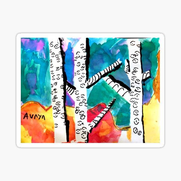 Auryn's Art - 3rd grade Sticker
