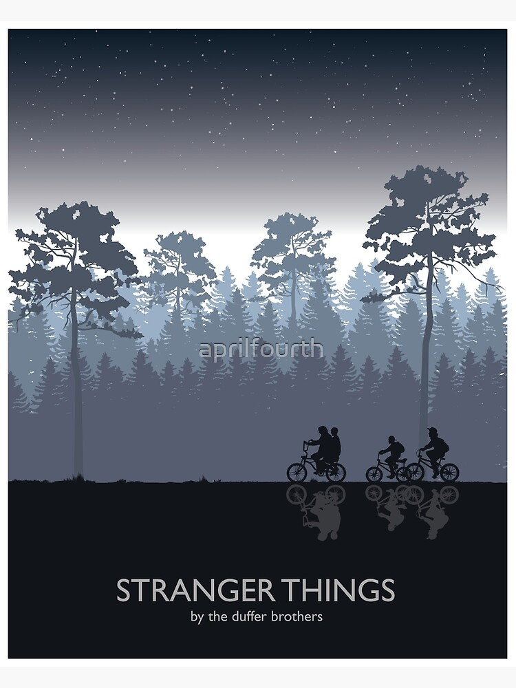 Stranger Things Tribute Art by aprilfourth