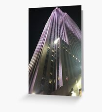 30 Rockefeller Place Greeting Card