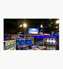 The Daily Show with Trevor Noah Set Photographic Print