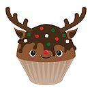 Deer muffin by Marjolein Schattevoet