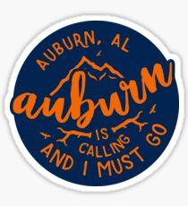 Auburn - Style 51 Sticker