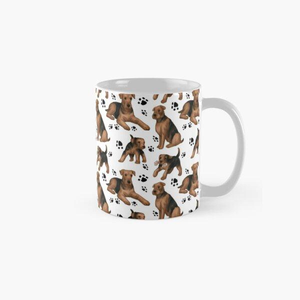 Airedale pattern Classic Mug