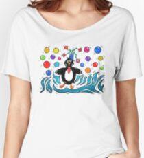 Penguin Women's Relaxed Fit T-Shirt