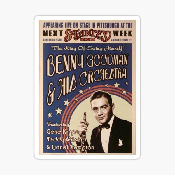 Benny Goodman Sticker