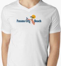 Panama City Beach - Florida. Mens V-Neck T-Shirt