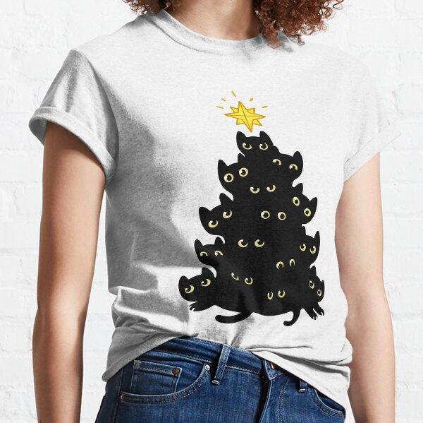 Noël Meowy T-shirt classique