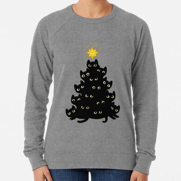 Meowy Christmas Lightweight Sweatshirt