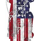 American Chopper Motorcycle T Shirt  by Fangpunk