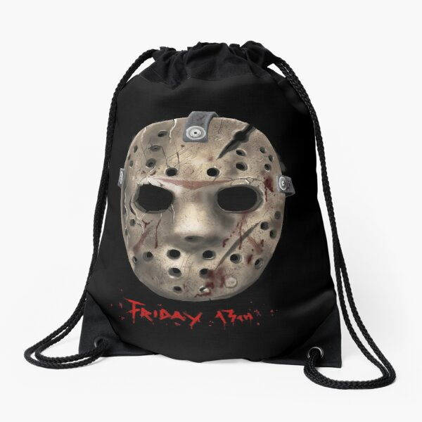 Jason Friday 13 th Mask Drawstring Bag