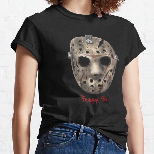 Jason Friday 13 th Mask Classic T-Shirt