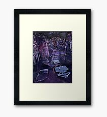 The Way of Spirits, Digital Artwork Framed Print