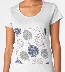 Cute doodle onions Women's Premium T-Shirt