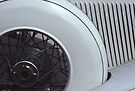 1933 Auburn Cabrio Spare Wheel by Anna Lisa Yoder