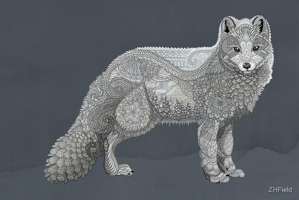 Arctic Fox by ZHField