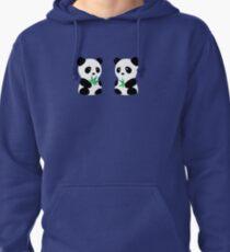Two Pandas Pullover Hoodie