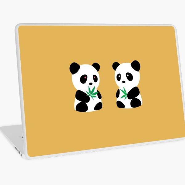 Two Pandas Laptop Skin