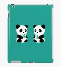 Two Pandas iPad Case/Skin