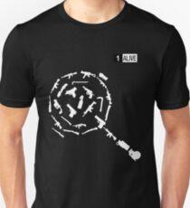 Camiseta ajustada Armas de la camiseta de PUBG - Jugadores Desconocidos Campos de batalla