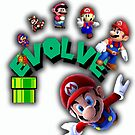 Mario Evolves by Charles Caldwell