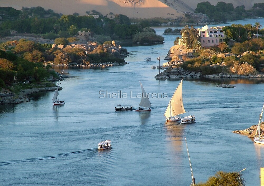 Cataracts Of The Nile Egypt By Sheila Laurens Redbubble