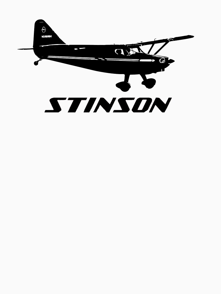 Stinson Aircraft with Logo by cranha