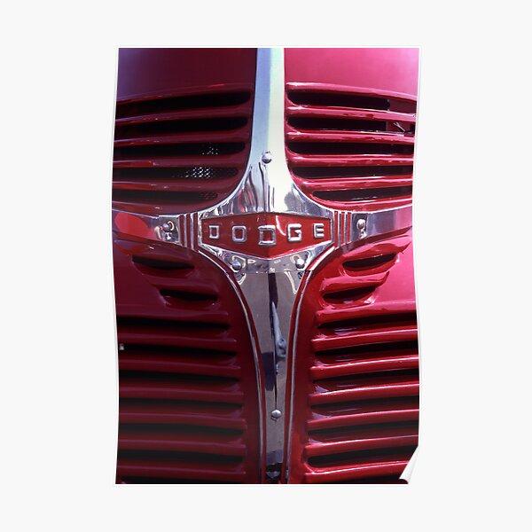 1938 Dodge Pickup Front End Poster