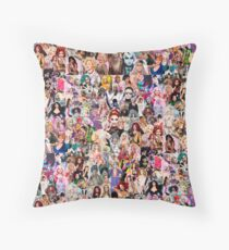 RuPaul Queen Throw Pillow