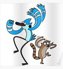 Ooooooh - Funny Regular Cartoon Show Sticker Shirt Tote Pillow Poster