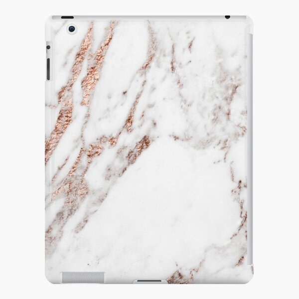 Rose gold vein marble iPad Snap Case