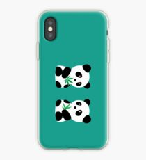 Two Pandas iPhone Case