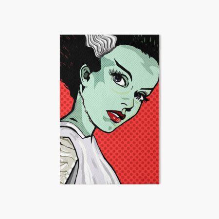 The Bride of Lichtenstein Art Board Print