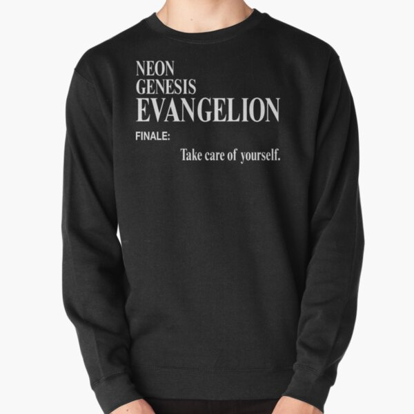 Neon Genesis Evangelion: cuídate. Sudadera sin capucha