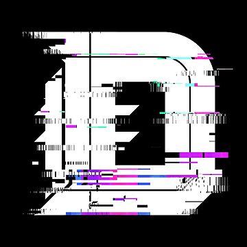 Detroit | The D (Glitch I) by NormalSizedDeet