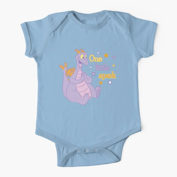 One little spark Short Sleeve Baby One-Piece