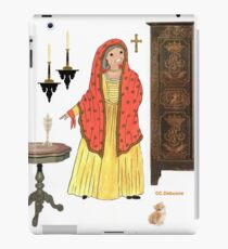 Costume traditionnel de CORSE, France iPad Case/Skin