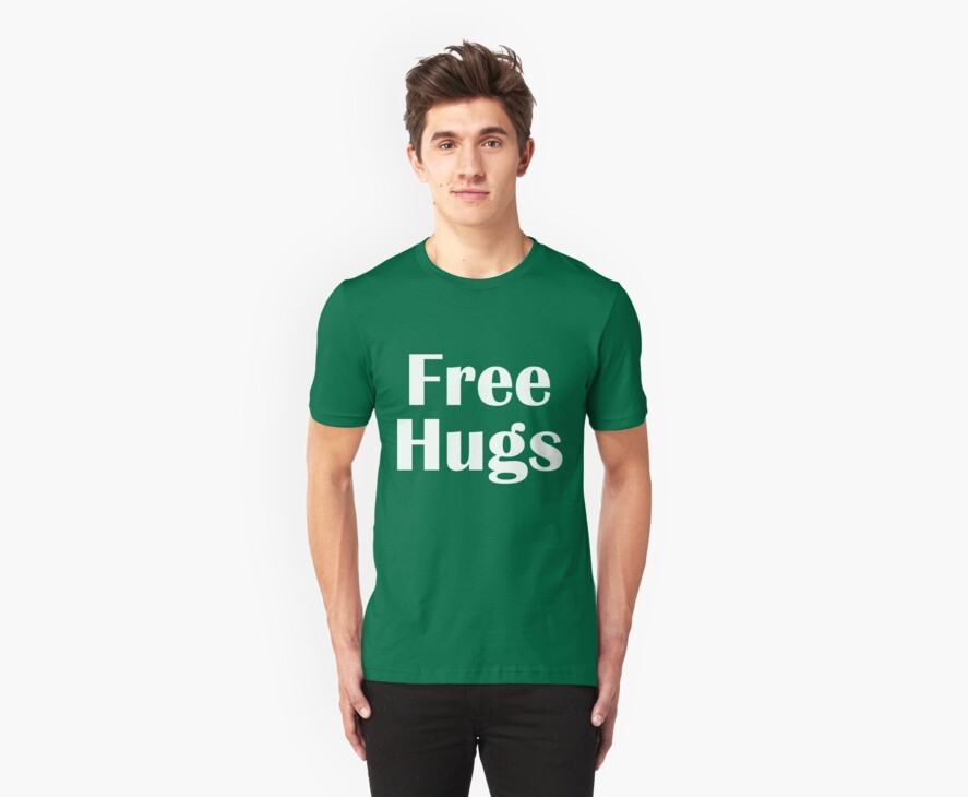 Free Hugs by Chris Richards