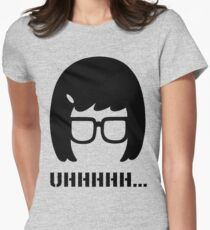 Uhhhhhhh...... Womens Fitted T-Shirt