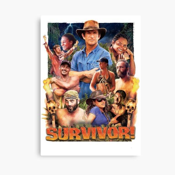 Survivor Epic Poster Canvas Print