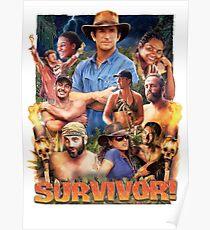Survivor Epic Poster Poster